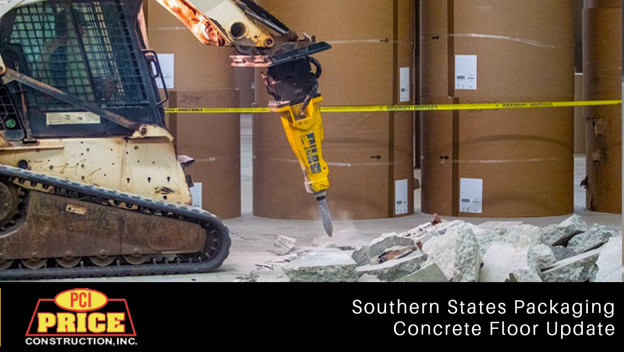 Southern States Packaging | Concrete Floor Update