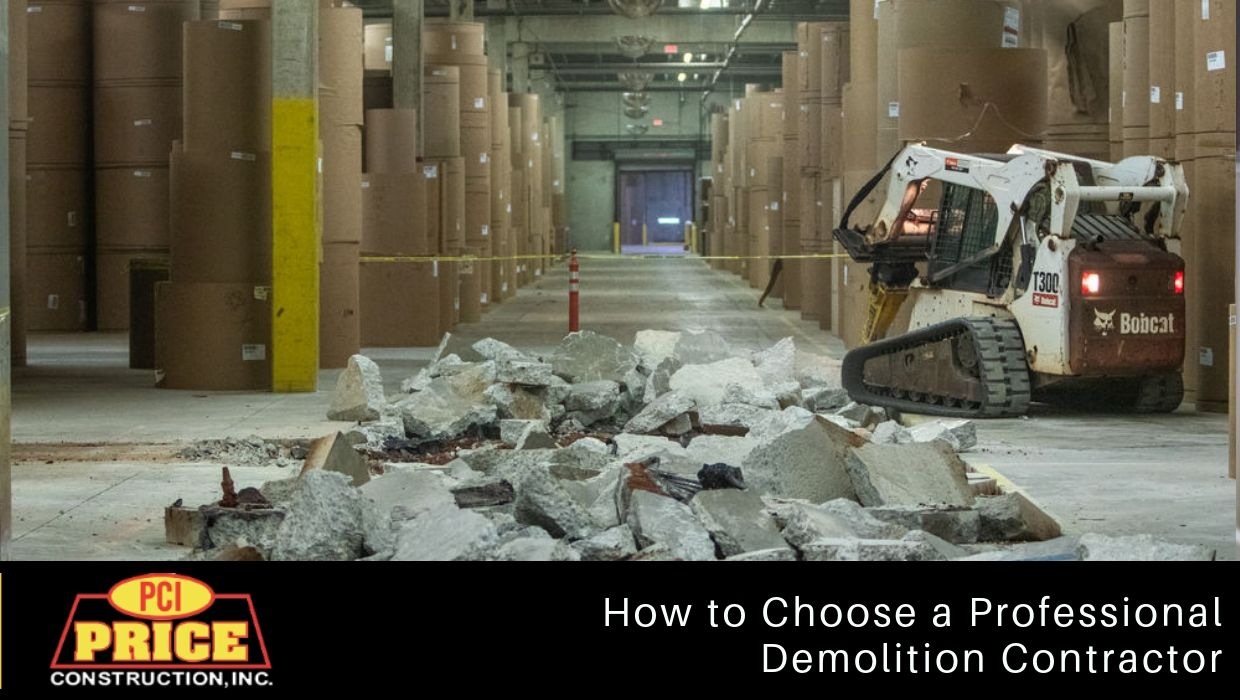 How to Choose a Professional Demolition Contractor