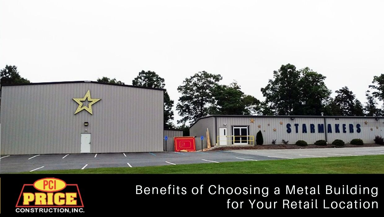 Benefits of Choosing a Metal Building for Your Retail Location
