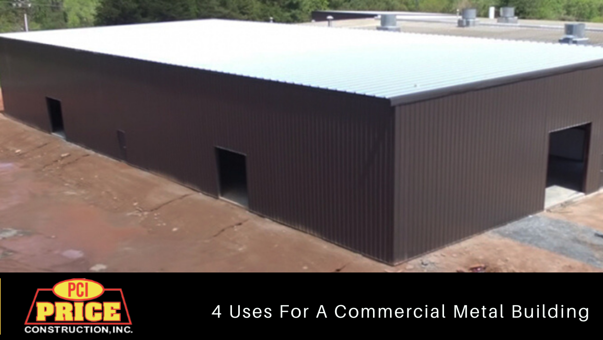 4 Uses For A Commercial Metal Building