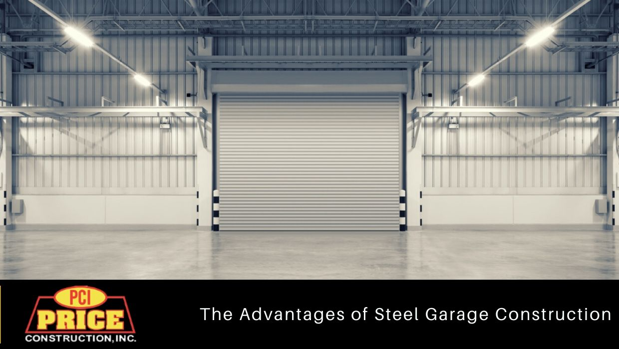 Advantages of Steel Garage Construction