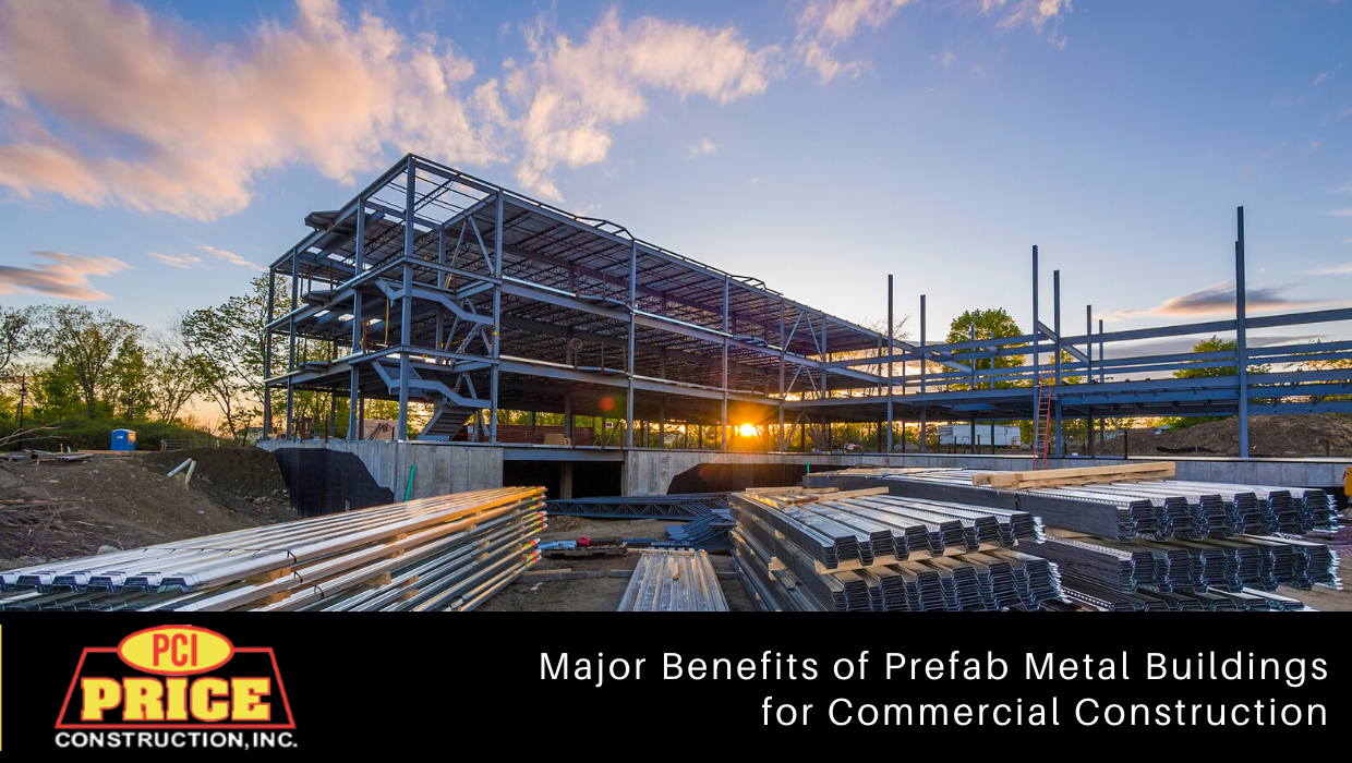 Major Benefits of Prefab Metal Buildings