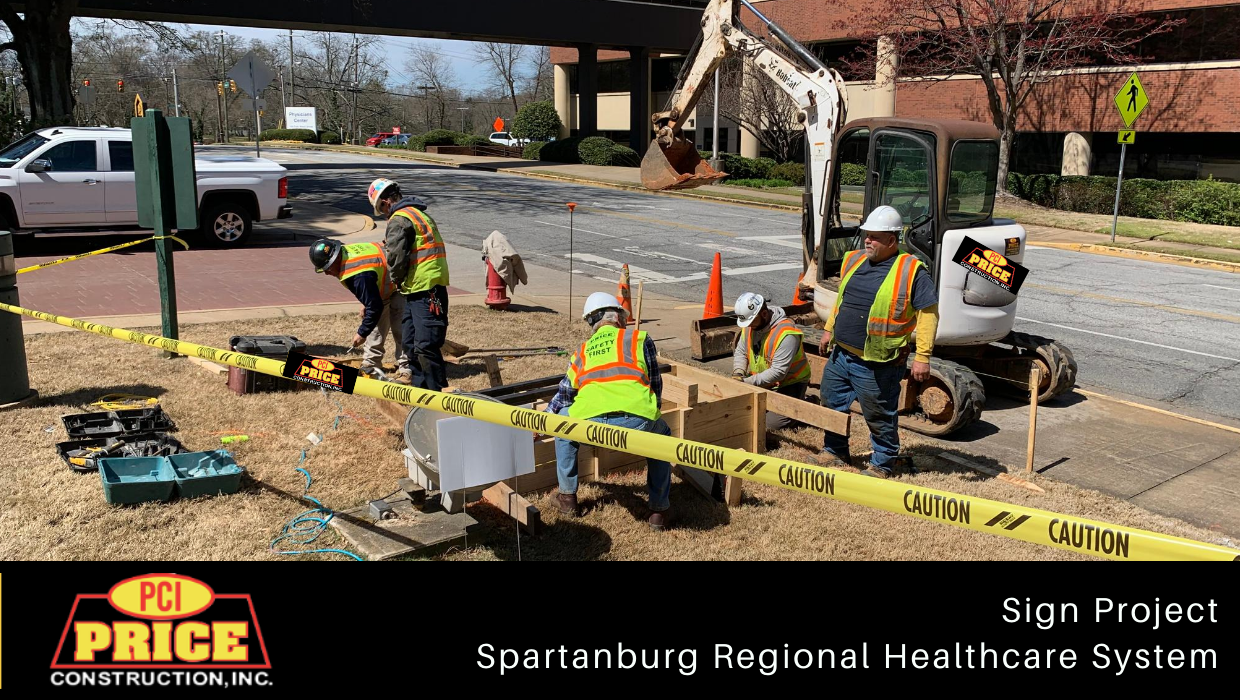 Spartanburg Regional Healthcare System – Sign Project