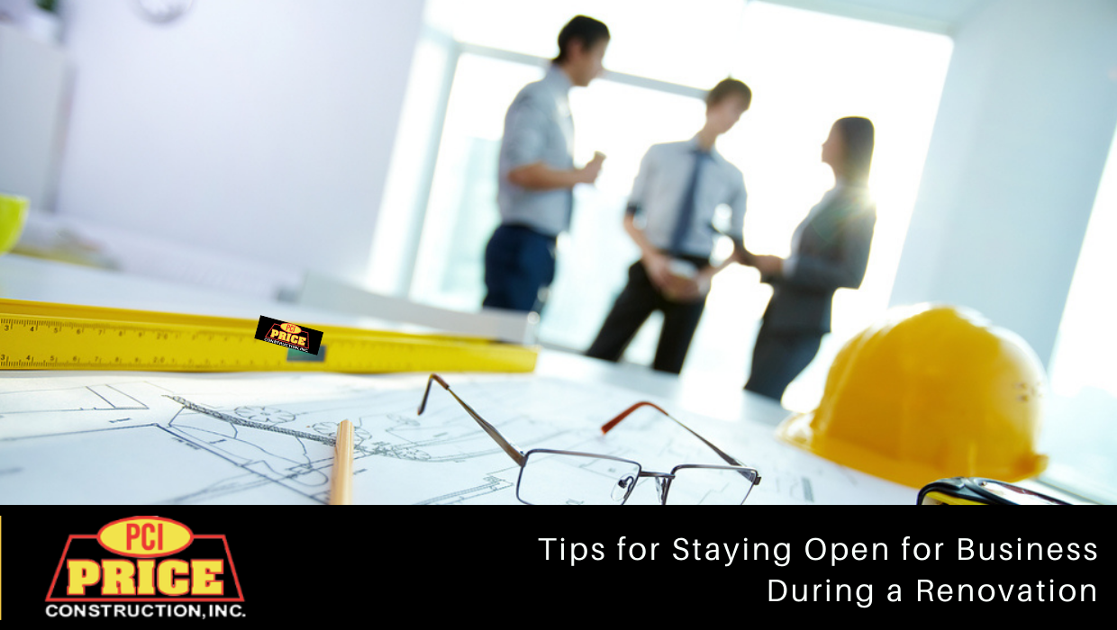 Renovation – Tips for Staying Open for Business