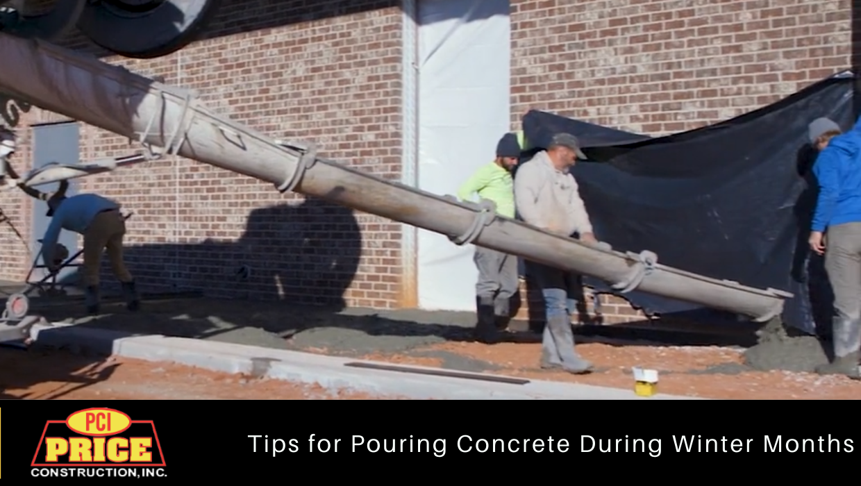 Pouring Concrete During the Winter Months
