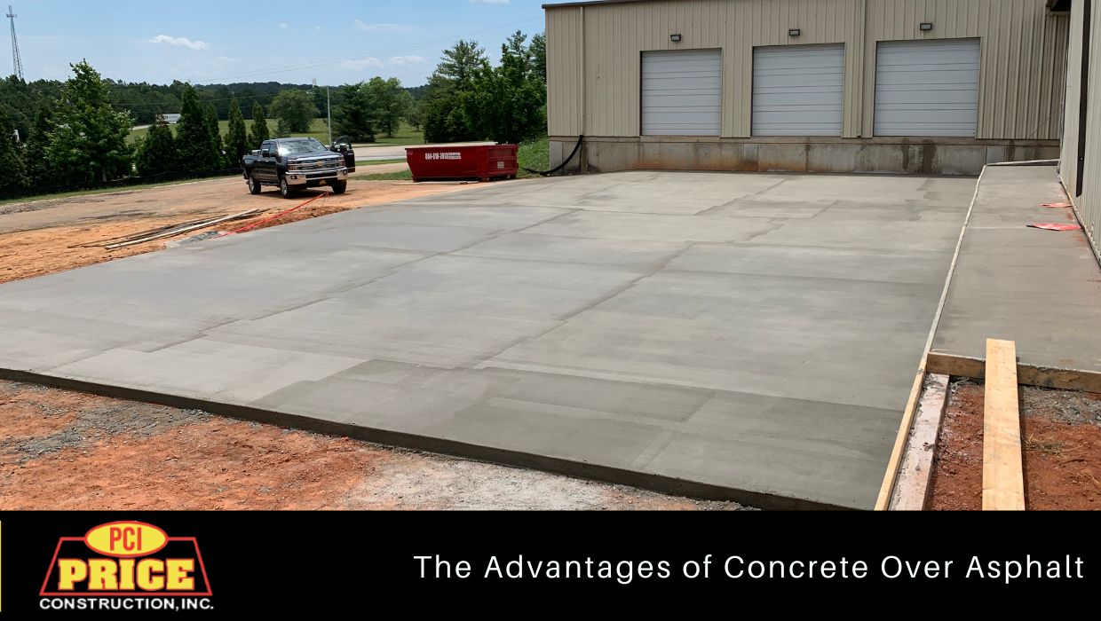 The Advantages of Concrete Over Asphalt