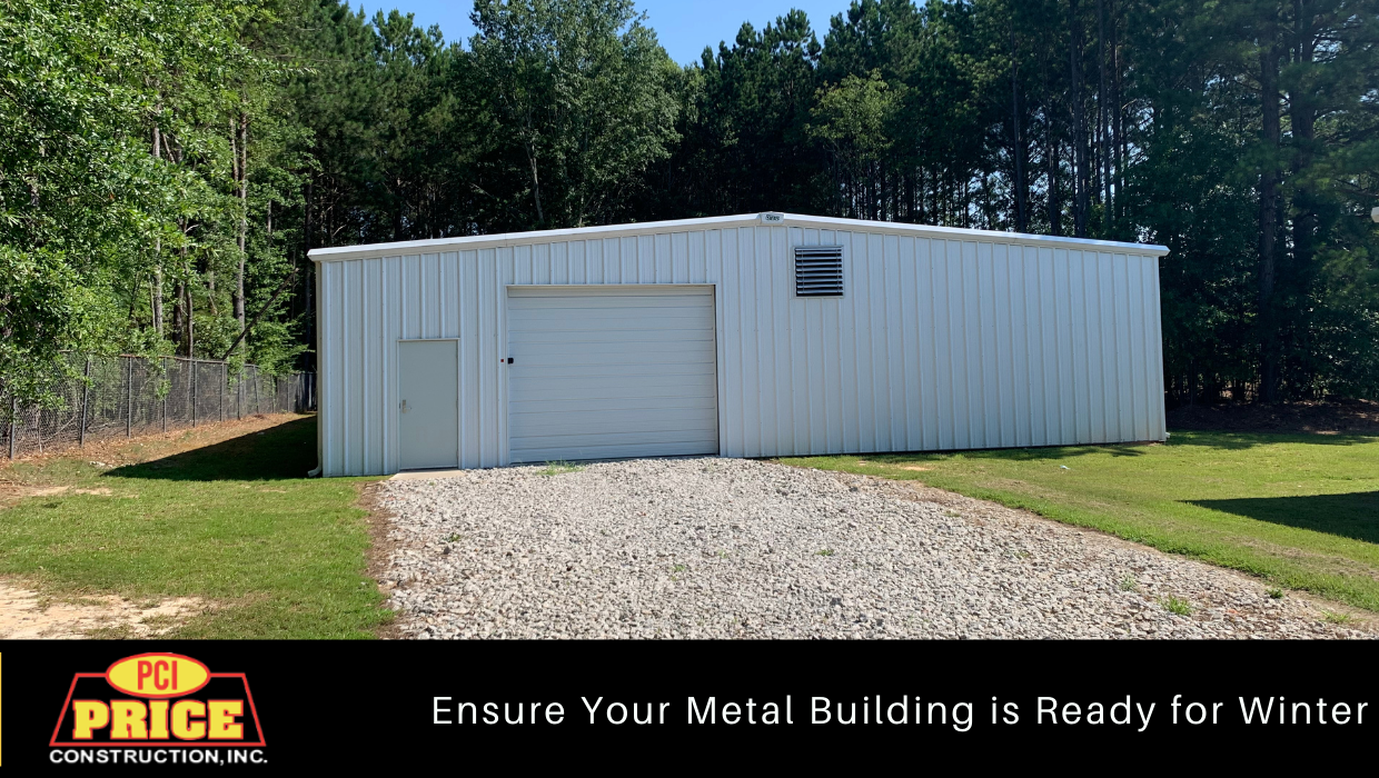 Is Your Metal Building Ready for Winter?