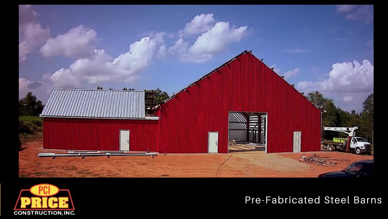 Custom Pre-Fabricated Barn Construction
